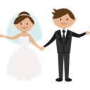 Bride, people, Wedding Couple, groom, romantic Icon
