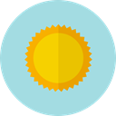 nature, summer, sun, weather, Summertime, meteorology, Sunny, warm LightBlue icon