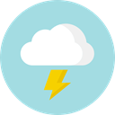 Cloud, Elements, Atmospheric, weather, Storm, meteorology Icon