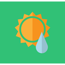 meteorology, Atmospheric, Summer Rain, weather MediumSeaGreen icon