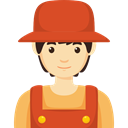 Man, Occupation, job, Farmer, profession, people, Avatar Chocolate icon