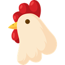 bird, Animals, Animal, hen, Farm BlanchedAlmond icon