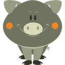 Animals, pig, Animal Kingdom, wildlife, Farming, mammal DimGray icon