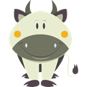 mammal, Farming, Animal Kingdom, Animals, cow Beige icon