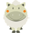 Animal, Sheeps, Sheep, Farming, Mammals, Farm, Animals Icon