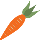 organic, vegetable, vegetarian, food, diet, Carrot, Healthy Food, vegan Black icon