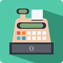 buy, Cash Register, Shopping Store, commerce, payment, Purchase MediumAquamarine icon