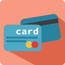 Money, Credit card, commerce, credit, payment, Business, card LightSalmon icon