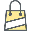 shopping bag, Supermarket, Shopper, Business, shopping, Bag, commerce DimGray icon