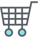 Supermarket, Shopping Store, online store, shopping cart, commerce DimGray icon