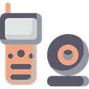security, Webcam, technology, Camera DimGray icon
