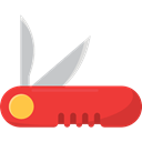 Switzerland, Blade, equipment, Tools And Utensils, Swiss Army Knife Black icon