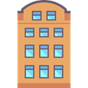 property, residential, buildings, Apartments, real estate SandyBrown icon