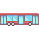 transport, Public transport, vehicle, Bus, Automobile, transportation, school bus Black icon