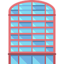 urban, Building, town, city, buildings, Architectonic, Office Block SkyBlue icon