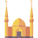 Architecture, islam, buildings, islamic, Mosque, Monuments, religion SandyBrown icon