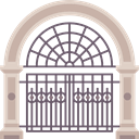 Door, Gate, Access DimGray icon
