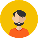profile, Avatar, Man, user, Business, people, Boy Gold icon