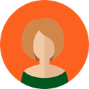 people, user, Girl, Avatar, woman, Business, profile Tomato icon