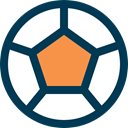 Game, Team Sport, equipment, Football, soccer, sports MidnightBlue icon