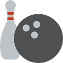 leisure, sports, Fun, Bowling Pins, Bowling, Game DarkSlateGray icon