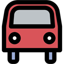 vehicle, transportation, school bus, transport, Bus, Public transport, Automobile Black icon