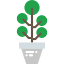 illumination, nature, invention, Light bulb, electricity, Idea, plant, technology Black icon