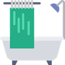 Hygienic, bathroom, hygiene, washing, Bath, Bathtub, Clean Gainsboro icon