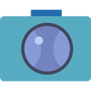 technology, digital, photograph, interface, picture, photo camera CadetBlue icon
