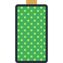 Battery, technology, battery status, full battery, Battery Level MediumSeaGreen icon