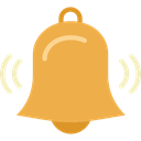 Alert, Tools And Utensils, Alarm, bell, musical instrument, music SandyBrown icon