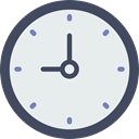 time, square, Tools And Utensils, watch, Clock, tool Lavender icon