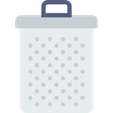 Can, Garbage, Trash, tin, recycle, Tools And Utensils Lavender icon