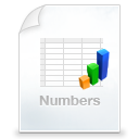 numbers WhiteSmoke icon