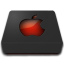 Apple, nanosuit, Hd DarkSlateGray icon