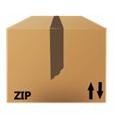 Zip, File, nanosuit Peru icon