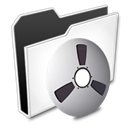 Audio, nanosuit, Folder, video DarkSlateGray icon