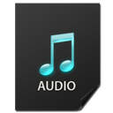 generic, File, Audio, nanosuit DarkSlateGray icon