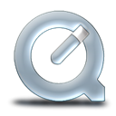quicktime, nanosuit, graphit Black icon