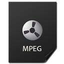File, Mpeg, nanosuit DarkSlateGray icon
