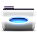 Action, Automator Black icon