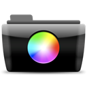 Colors, colorpickers Black icon