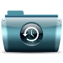 time, machine Black icon
