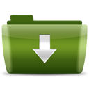 Downloads DarkGreen icon