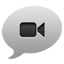 ichat DarkGray icon