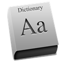 dictionary DarkGray icon