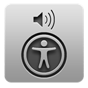 voiceover, utility DarkGray icon