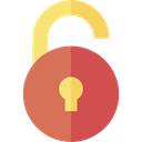 Tools And Utensils, locked, padlock, Lock, secure, security IndianRed icon