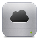 Cloud DarkGray icon