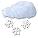 Flurry, Snow Black icon